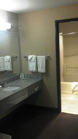 Quality Inn Estes Park: bathroom very clean