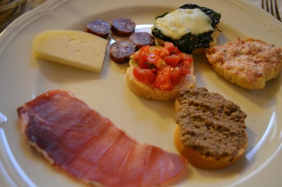 Agriturismo Bonello: Dinner - Starters