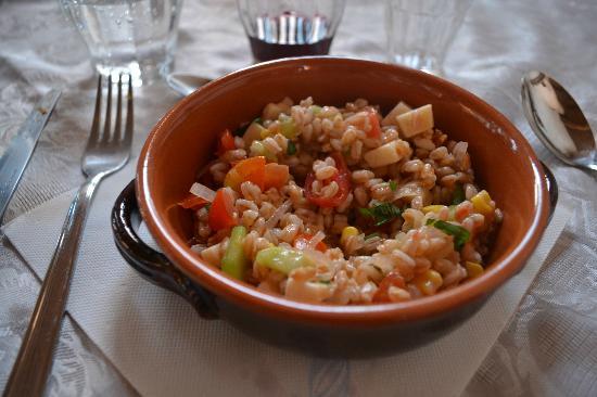 Agriturismo Bonello: Dinner with fresh ingrediants