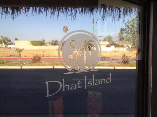 Dhat Island: one of front windows