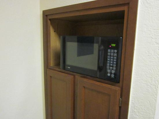 Sonesta ES Suites Cleveland Airport: a small microwave