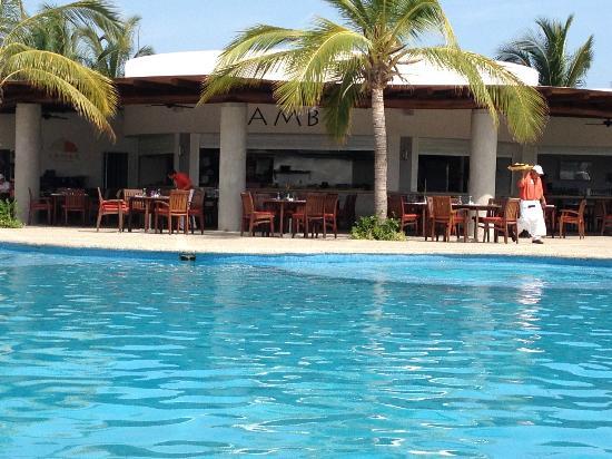 Mayan Palace Acapulco: Samba restaurant, great buffet!