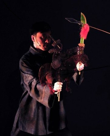 Shichahai Shadow Art Performance Hotel : puppeteer