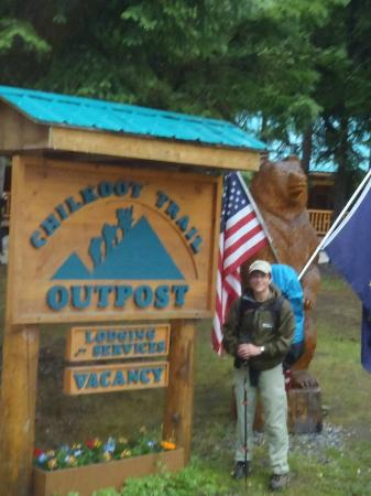 Chilkoot Trail Outpost: Heading out to the Chilkoot trailhead.