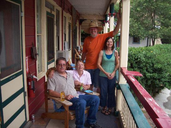The Inn at Castle Rock: balcony