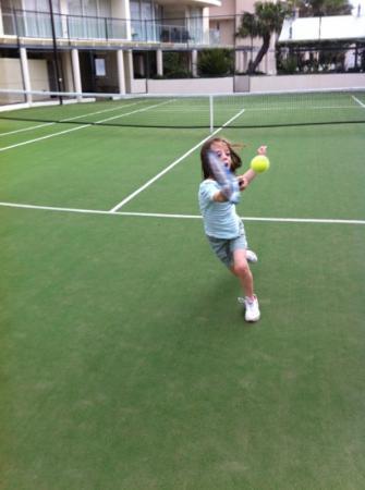 Aspect Caloundra: Tennis at Aspect
