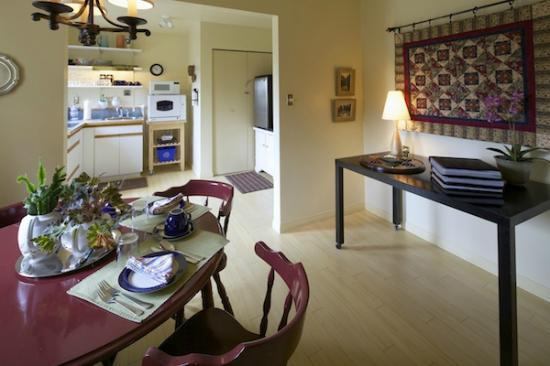 Anchor Point: View to kitchenette