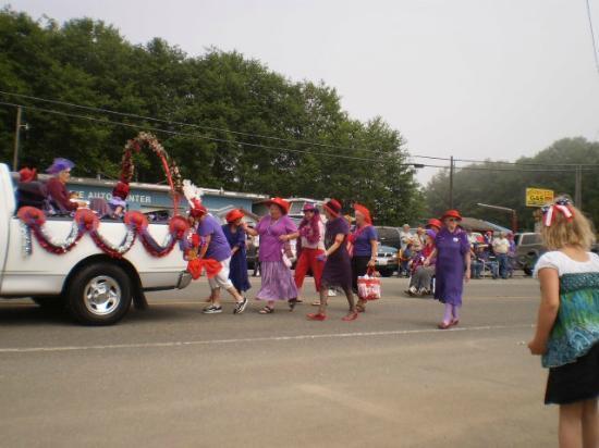 "Mason's Olson Resort: Women's ""Red Hats"" of Sekiu, Wa"