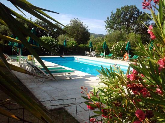 Agriturismo Sant'Ilario sul Farfa: La piscina