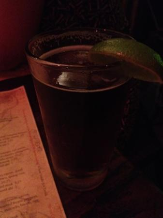 Ortega 120: Dos Equis Amber on draught