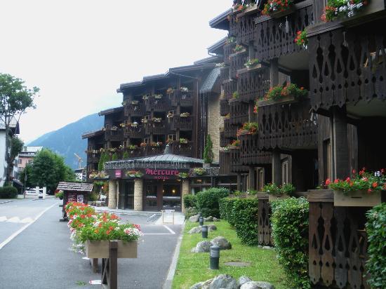 Mercure chamonix photo de mercure chamonix centre hotel for Hotels chamonix