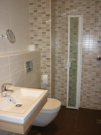 Hotel Villa Goxoa : Salle de bains
