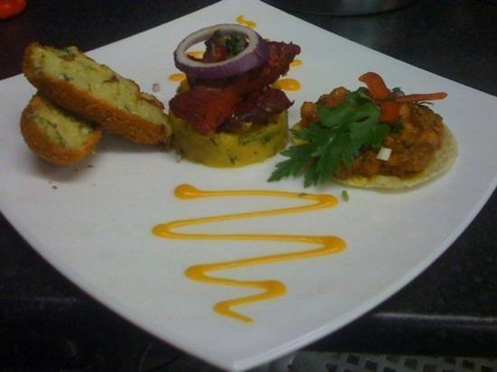 Taste Of India: lovely presentation