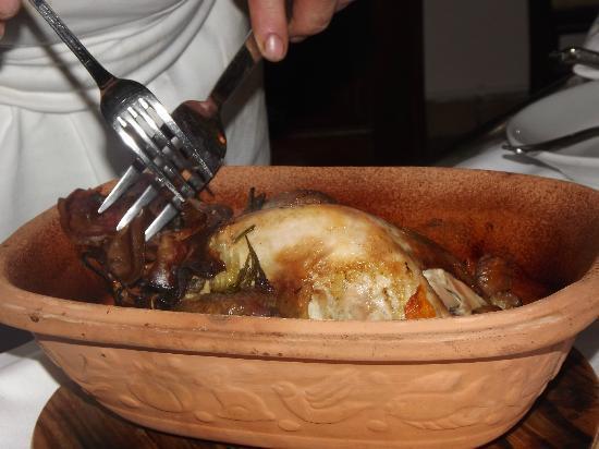 Osteria del Dazio: fagiano con castagne - 9