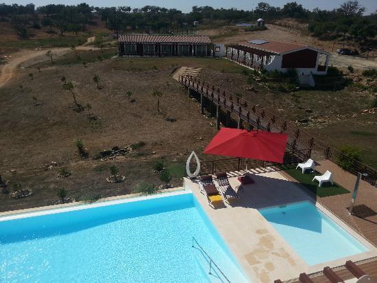 Monte Xisto Hotel Rural: Terrasse