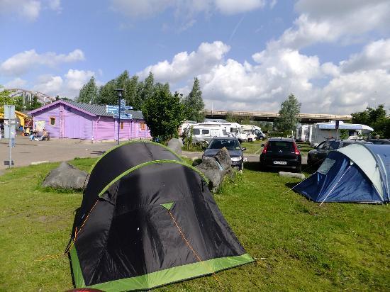 Camping Zeeburg tents