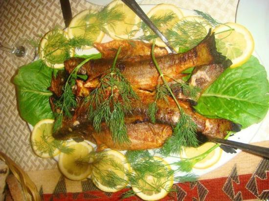 Arthurs Aghveran Resort : Fish that we caught in the hotel lake:)