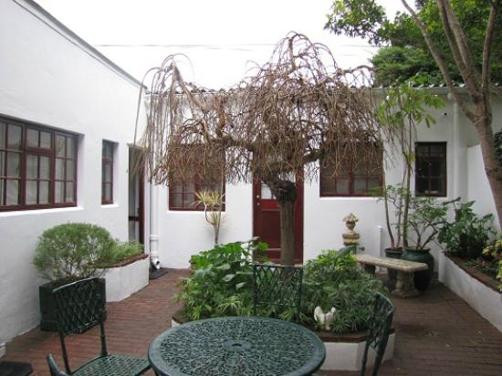 Brighton Lodge Guest House: Courtyard outside cottage