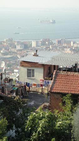 Kadifekale: the view...