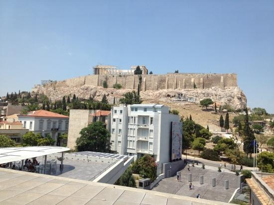 Hermes Hotel: Acropolis view from museum