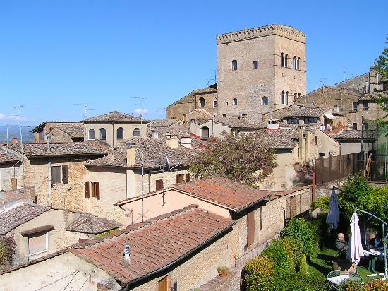 Locanda La Mandragola: The view from the roof