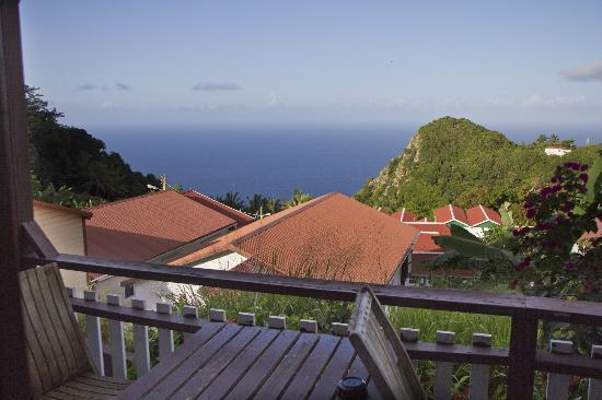 Scout's Place Hotel: Blick aus unserem Cottage Raum 3