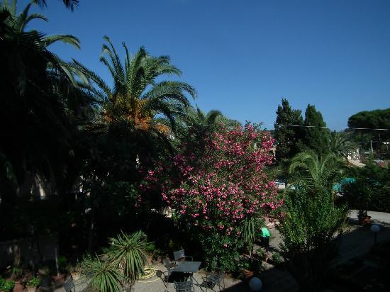 Villa Rodriguez Hotel: Blick vom Balkon aus Zimmer 30