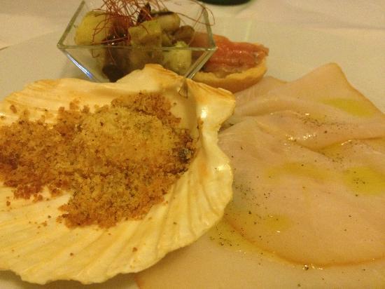 Ristorante Colapasta: Fisch Menü!!