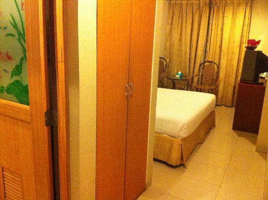 89 Hotel: View from Main Door