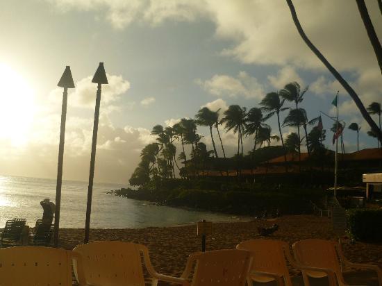 Napili Kai Beach Resort: Baia al tramonto