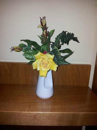 Hotel Alassio: Tristissimo - vasetto di fiori finti