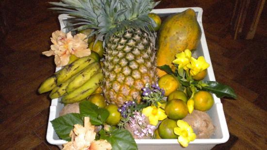 Hotel Arc en Ciel: Frutta