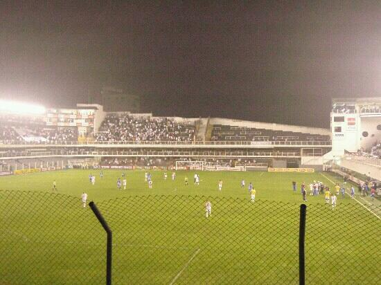 Urbano Caldeira Stadium: Estdio, Santos, SP