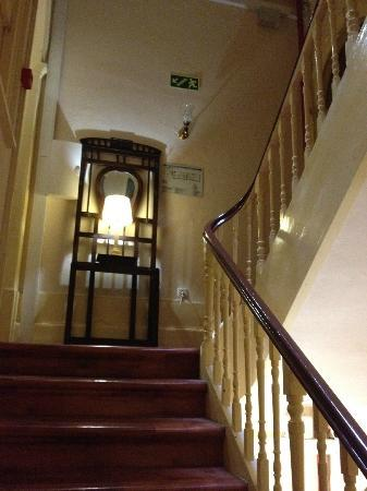 Santa Clara Guest House: hall d'escalier