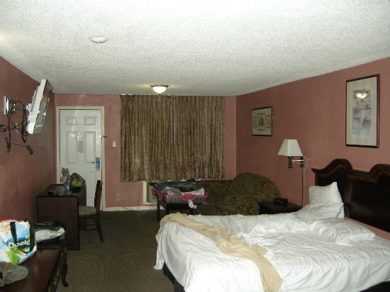 Rodeway Inn Memphis: Stanza
