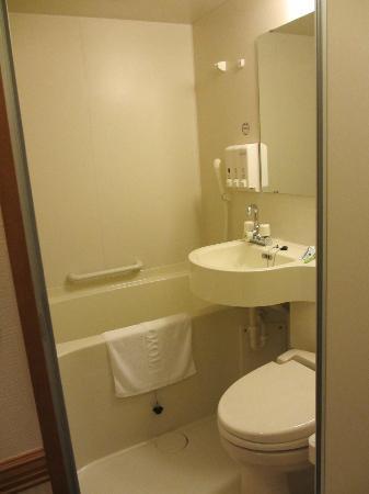 Toyoko Inn Tsukuba Express Moriya ekimae: Banheiro