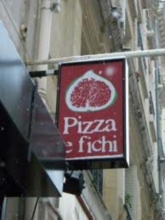 Pizza e fichi : insegna