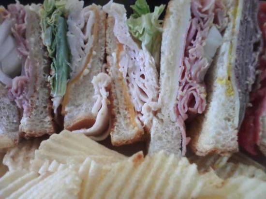 Steady Eddy's Cafe: Layers of goodness... The Dagwood