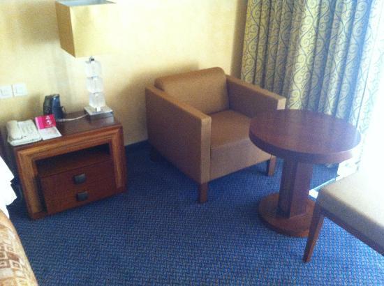 Hilton Alger : intérieur de la chambre
