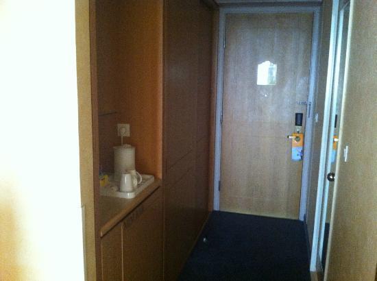Hilton Alger: l'entrée de la chambre