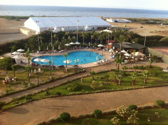 Hilton Alger: vue de la chambre