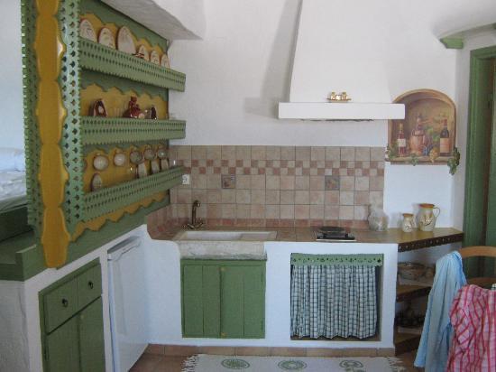 Kalderimi: Kjøkkenet