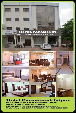 Hotel Paramount: ELEVATION