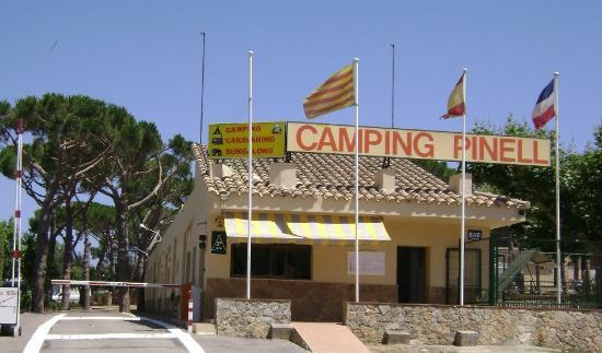 Camping Pinell: Recepción