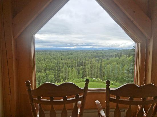 Denali Overlook Inn: view from room