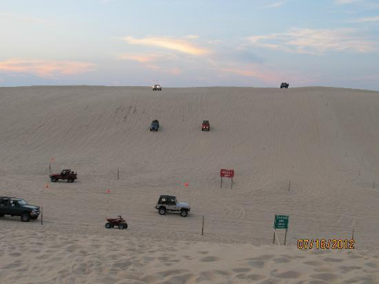 Hart, MI: Off-roaders testing their vehicles and skill.