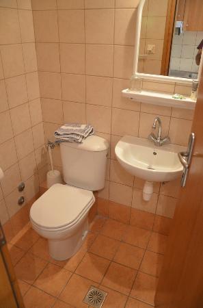 Hotel Nikos: bathroom