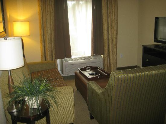 Hampton Inn & Suites Port Richey: Another view of the living area.