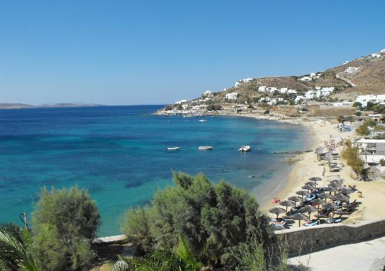 Mykonos Grand Hotel & Resort: beach at Mykonos Grand