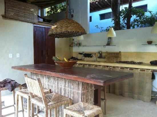 Soleluna Casa Pousada: Kitchen